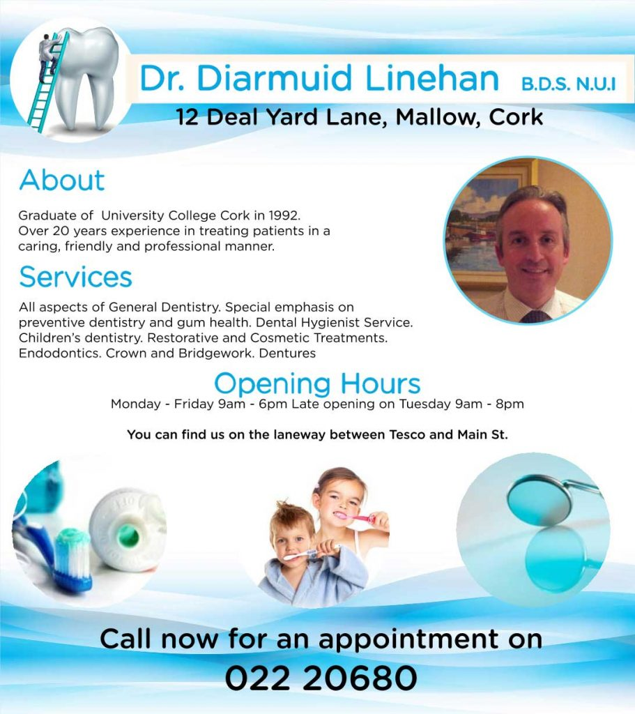 Dr. Diarmuid Linehan (Dental Surgeon)